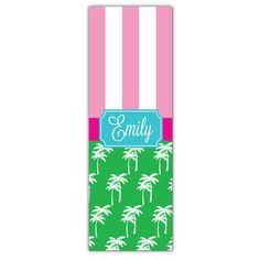 Mix Palm Personalized Yoga Mat