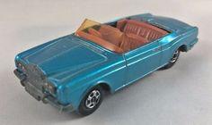 Vintage Lesney Matchbox No 69 Superfast Rolls Royce Silver Shadow Coupe #Matchbox #RollsRoyce