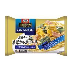 オーマイ プレミアムグランデ <3種チーズの濃厚カルボナーラ> - 食@新製品 - 『新製品』から食の今と明日を見る!