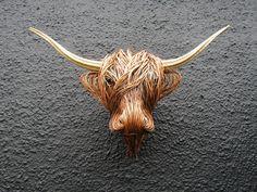 Life size highland trophy head Moose Art, Life, Animals, Animales, Animaux, Animal, Animais