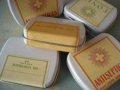 Inspiration: Vintage Prescription Labels
