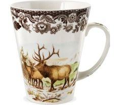 Spode Woodland Elk Mug