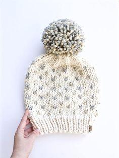 e57b9264fda Extra Slouchy Hearts Hat Jumbo Pom Fair Isle Chunky Knit Hat Patterns