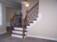 Staircase: Cool Basement Stairs Design With Wooden Stairway And ...
