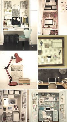 closet+office+ideas | Creating a Workspace At Home: Closet Office Ideas | Home Tree Atlas