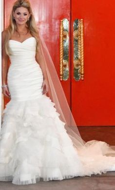 Lazaro wedding gowns at Catan Fashions in Strongsville OH   Find the dress of your dreams at the largest bridal store in America   www.catanfashions.com