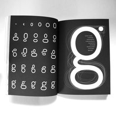 Spread from TypographJournal volume02 exploring kit of parts geometry and the essential form of a double decker g
