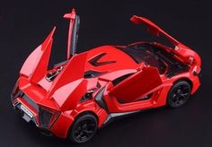 Fast and Furious 7 Lykan Hypersport 1:32 Scale Supercar Red Toys Gifts New