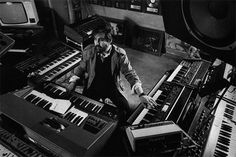 "VANGELIS--my ultimate inspiration and model for electronic music and ""one-man"" orchestra. One of the true geniuses of the 20th century."