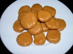 Caramels de toffee/ Caramelos de toffee/ Toffee candy/ Doce de toffee