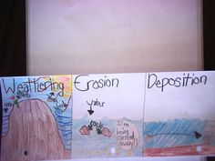 Weathering Deposition Erosion Foldable   Mrs. Malpass' Mentions Fourth Grade Science, Middle School Science, Elementary Science, Science Classroom, Classroom Ideas, Science Biology, Teaching Science, Science Education, Life Science