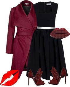 """""""Lips"""" by pollydickson ❤ liked on Polyvore"""