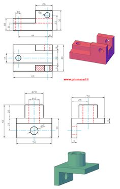 Mechanical support Source by Autocad Isometric Drawing, Isometric Drawing Exercises, Mechanical Engineering Design, Mechanical Design, Sketch Design, 3d Sketch, Sketches, Orthographic Drawing, Bathroom Towel Decor