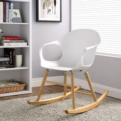 Modway Swerve Rocking Chair.