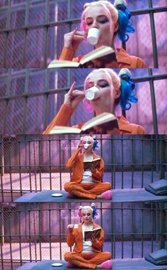 Possibly the most accurate Harley has looked in the Suicide Squad previews- previous pinner, though I was just thinking that :)