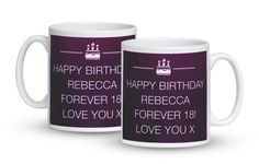 Force that birthday boy or girl to kick off their shoes, take a break and make it a day that's simply great... with this text message mug! #happy21st #21stbirthday #21stbirthdaygift #21st #21stgift #giftideas #personalisedgifts #gift
