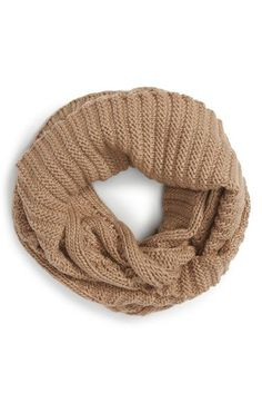 Michael Kors Large Knit Infinity Scarf / @nordstrom #nordstrom