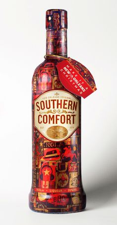 Southern Comfort - yes please. In a tall glass, on the rocks. STAT.