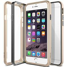 Obliq Metallic Bumper [Champagne Gold] - Triple Hybrid Fusion Metalized Cover for iPhone 6. #iPhone6