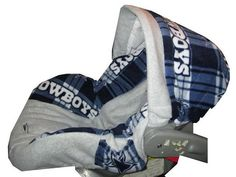Dallas Cowboys Infant Car Seat Cover  Etsy listing at https://www.etsy.com/listing/188781150/dallas-cowboys-infant-car-seat-cover