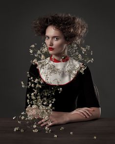 Flower Girls – A fashion portrait projects by a team of Russian artists - Photo by Irina-Bordo Gone Rogue, Creative Portraits, Girl Fashion, Fashion Design, Fashion Trends, Amazing Flowers, Fashion Pictures, Fashion Photography, Flower Girls
