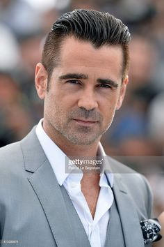 Actor Colin Farrell attends a photocall for 'The Lobster' during the 68th annual Cannes Film Festival on May 15, 2015 in Cannes, France.