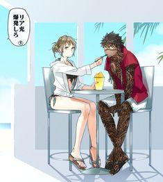 Anime Couples Drawings, Anime Couples Manga, Anime Guys, Fate Characters, Black Anime Characters, Character Art, Character Design, Fate Stay Night Anime, Cute Anime Coupes