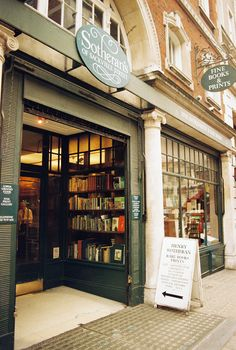 Rare and Antique Books, Sotherant's , London photo via kevin