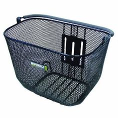 Removable Front Bicycle Basket