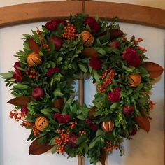 Circle Home and Design Floral Wreath, Wreaths, Fall, Holiday, Design, Home Decor, Autumn, Floral Crown, Vacations