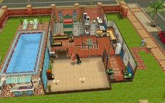 House layout sims freeplay