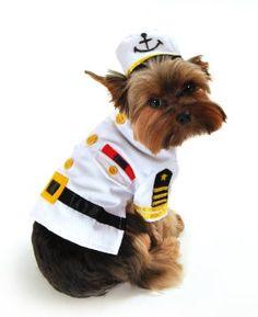 Anit Accessories Sea Captain Dog Costume, Small, 12-Inch