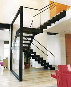 1000 images about interieur trap en entree on pinterest stairs staircases and architects - Trap in de woonkamer ...