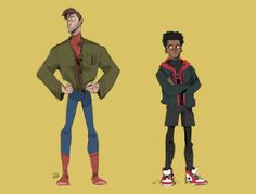 Spiderman: Into the Spiderverse Marvel Fan Art, Marvel Dc Comics, Marvel Avengers, Spider Verse, Spider Man Ps4 Game, Spider Baby, Bucky Barnes Captain America, Spiderman Art, Spider Man