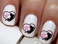 20 pc Firefighter Wife I Love My Fire Fighter by EasyNailTrends