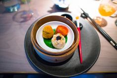 HKK - London Dim sum trilogy  HKK  Chef Tong Chee Hwee