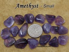 Amethyst Lilac (small) -anxiety. Associated with root chakra, secondary recc -reducing stress (top recc, solar plexus/heart/third eye chakra) -feeling overwhelmed (top recc, solar plexus chakra)