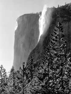 ansel adams el capitan fall- gives me a feeling, a strange mix of nostalgia and itchy feet