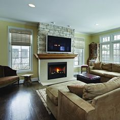 Superior DRT2000 Direct Vent Gas Fireplace | WoodlandDirect.com: Indoor Fireplaces: Gas, Superior Products