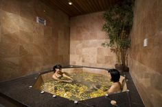Jacuzzi and fitness centre