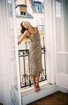 Faithfull The Brand Noemie Animal Print Midi Dress Cute Summer Dresses, Summer Outfits, Faithfull The Brand, Dress Images, Denim Outfit, Nordstrom Dresses, Dress Brands, New Dress, Beautiful Dresses