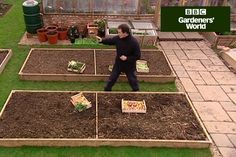 Discover how to practise crop rotation in Monty Don's video guide, including tips on growing potatoes, legumes, brassias and root veg - clip from Gardeners' World.