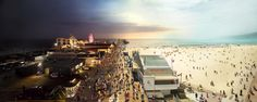 Day to Night, Santa Monica Pier, CA - Day to Night, Santa Monica Pier, CA
