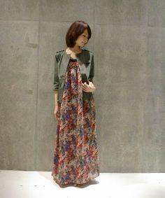 Floral Maxi Dress & Jacket