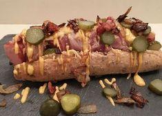 Broodje Rookworst met Bacon & Kaas