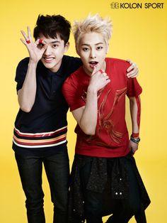 [140521] EXO New Picture for Kolon Sport CF [8]
