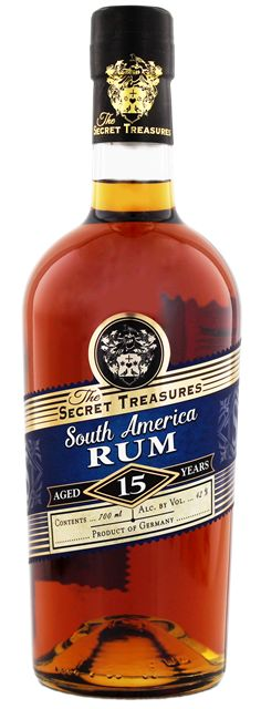 The Secret Treasures South America 15 years Rum