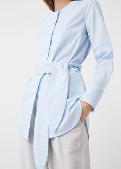 Camisa lazo | MANGO
