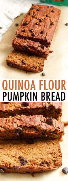 Spiced with cinnamon, nutmeg, ginger and allspice this moist and tender quinoa flour pumpkin bread is everything a pumpkin quick bread should be but a tad healthier, gluten-free and vegan. #eatingbirdfood #vegan #glutenfree #quinoaflour #pumpkin #pumpkinbread Pumpkin Quinoa, Pumpkin Loaf, Sugar Pumpkin, Healthy Pumpkin, Pumpkin Pie Spice, Gluten Free Pumpkin Bread, Vegan Gluten Free, Easy Halloween Food, Quick Bread