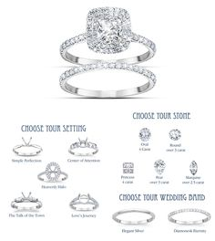 Personalized Wedding Rings from The Bradford Exchange